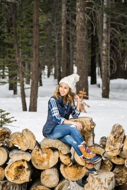 Fashionable women snow outfits for this winter 46