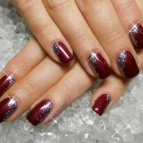 Gorgeous christmas nails ideas 118