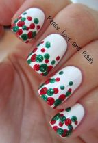 Gorgeous christmas nails ideas 129