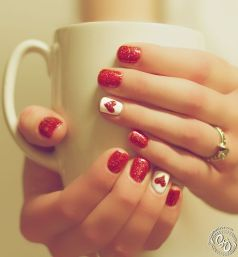 Gorgeous christmas nails ideas 135