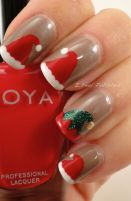 Gorgeous christmas nails ideas 31