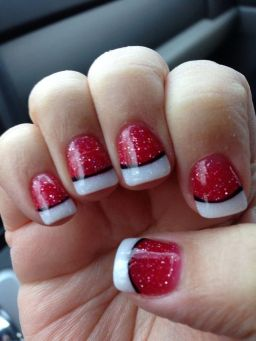 Gorgeous christmas nails ideas 5
