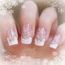 Gorgeous christmas nails ideas 58