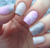 Gorgeous christmas nails ideas 98