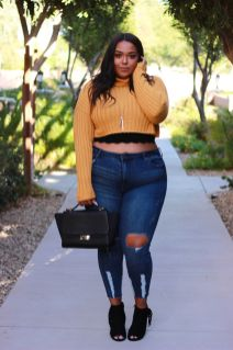 Inspiring winter outfits for plus size 11