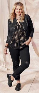 Inspiring winter outfits for plus size 12