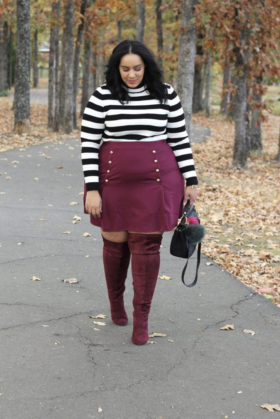 Inspiring winter outfits for plus size 2