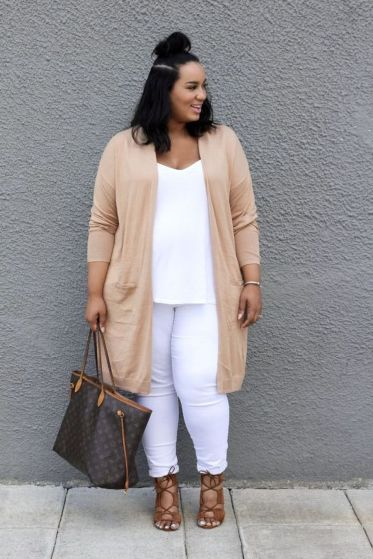 Inspiring winter outfits for plus size 27