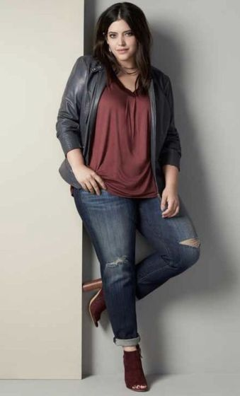 Inspiring winter outfits for plus size 28
