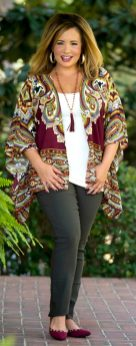 Inspiring winter outfits for plus size 34