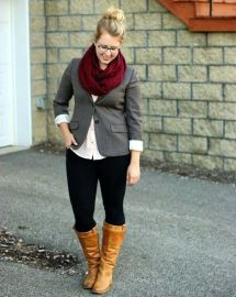 Inspiring winter outfits for plus size 39