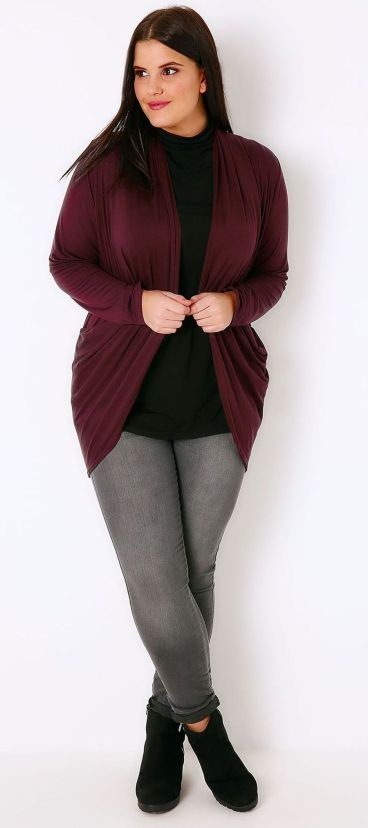 Inspiring winter outfits for plus size 41