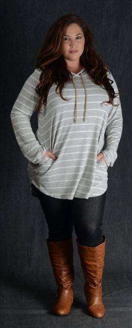 Inspiring winter outfits for plus size 66