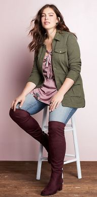 Inspiring winter outfits for plus size 7
