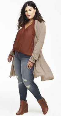 Inspiring winter outfits for plus size 72