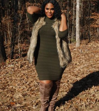 Inspiring winter outfits for plus size 73