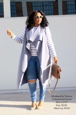 Inspiring winter outfits for plus size 8