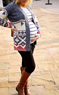 Maternity fashions outfits for fall and winter 6