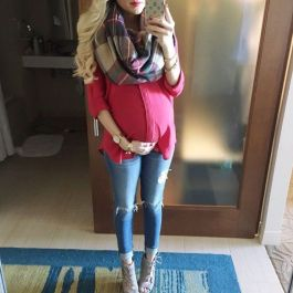 Maternity fashions outfits for fall and winter 62