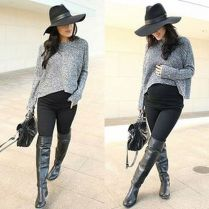 Maternity fashions outfits for fall and winter 8