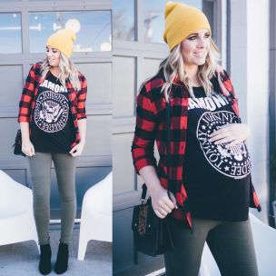 Maternity fashions outfits for fall and winter 91