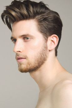 Men classy modern pompadour hairstyle 5
