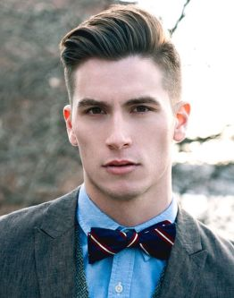 Men classy modern pompadour hairstyle 57