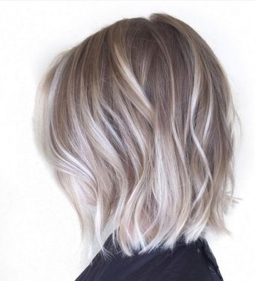 Stylish blonde lobs haircut ideas 1