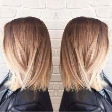 Stylish blonde lobs haircut ideas 16