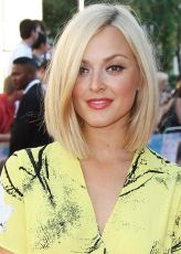Stylish blonde lobs haircut ideas 58
