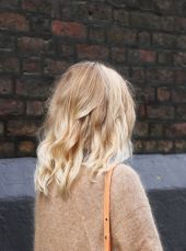 Stylish blonde lobs haircut ideas 59