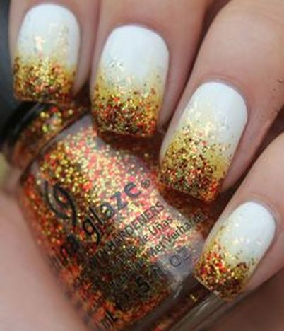 Swag thanksgiving nails art 27