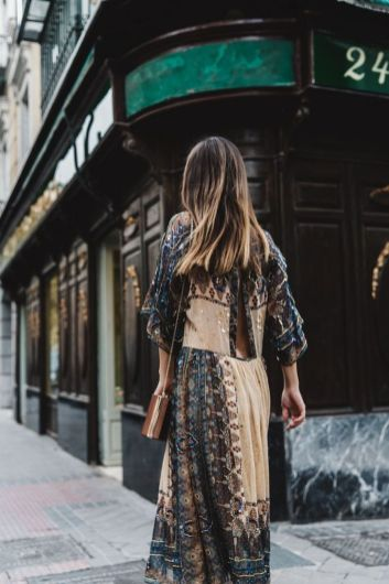 Boho dress for holiday and vacation outfits 49