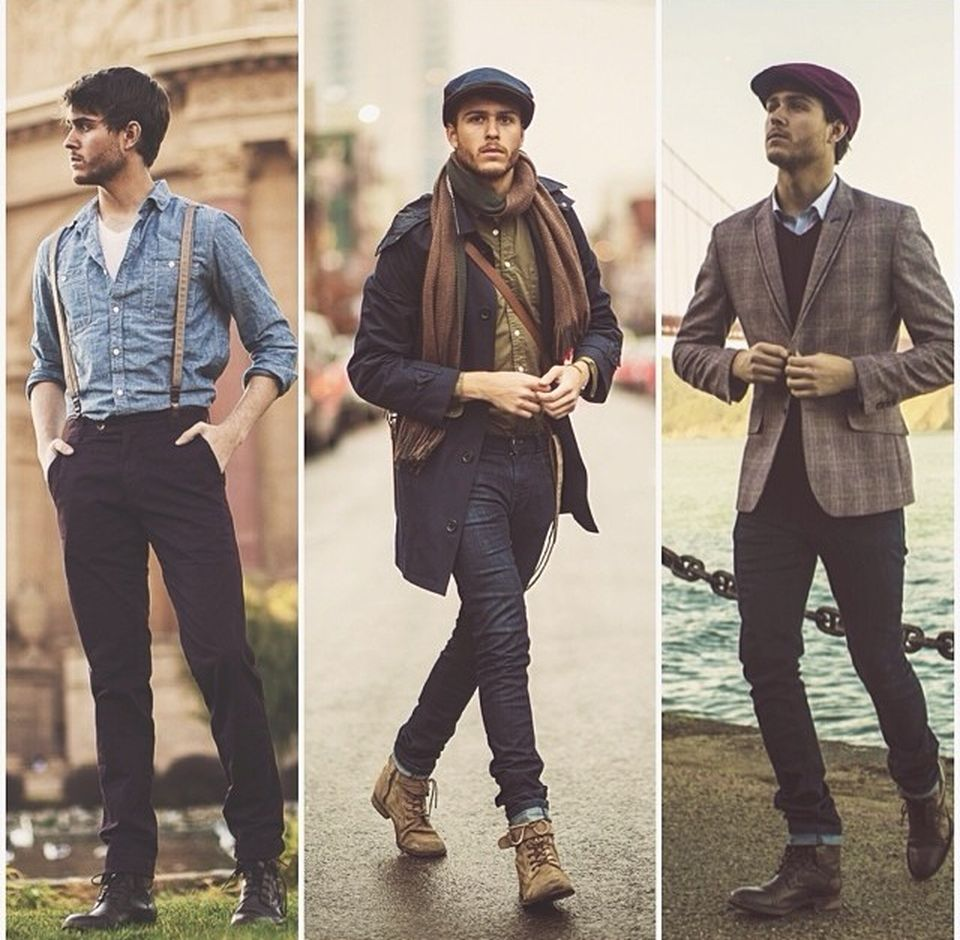 Casual indie mens fashion outfits style 10