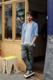 Casual indie mens fashion outfits style 18