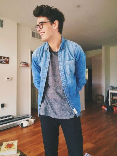 Casual indie mens fashion outfits style 31