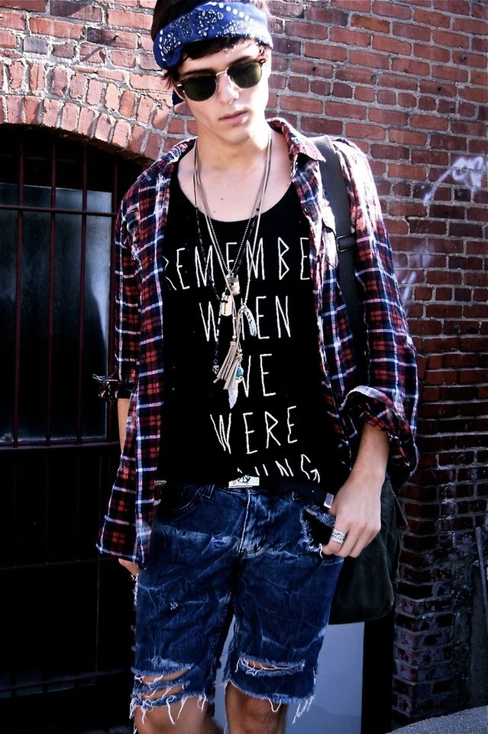Casual indie mens fashion outfits style 49