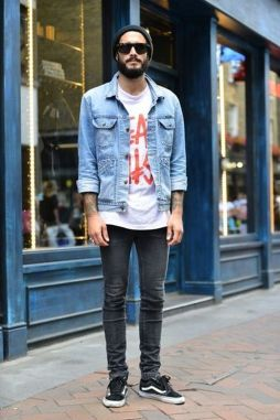 Casual indie mens fashion outfits style 50