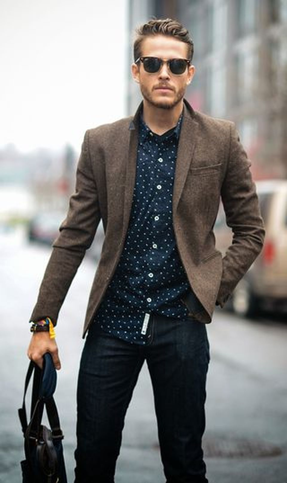 Casual indie mens fashion outfits style 66