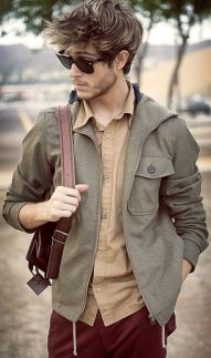 Casual indie mens fashion outfits style 9