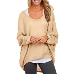 Fashionable oversized sweater for winter outfit 34