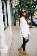 Fashionable oversized sweater for winter outfit 49