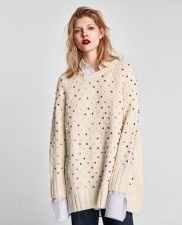 Fashionable oversized sweater for winter outfit 5