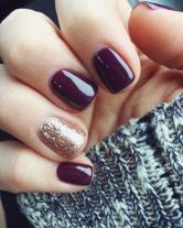Pretty winter nails art design inspirations 50