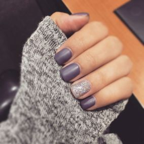Pretty winter nails art design inspirations 64