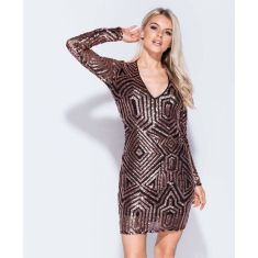 Sequin dress for new year eve party and night out 100