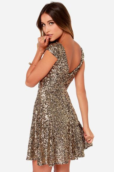 Sequin dress for new year eve party and night out 39