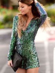 Sequin dress for new year eve party and night out 42