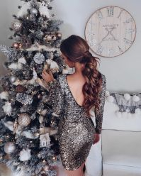 Sequin dress for new year eve party and night out 53