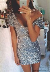 Sequin dress for new year eve party and night out 54
